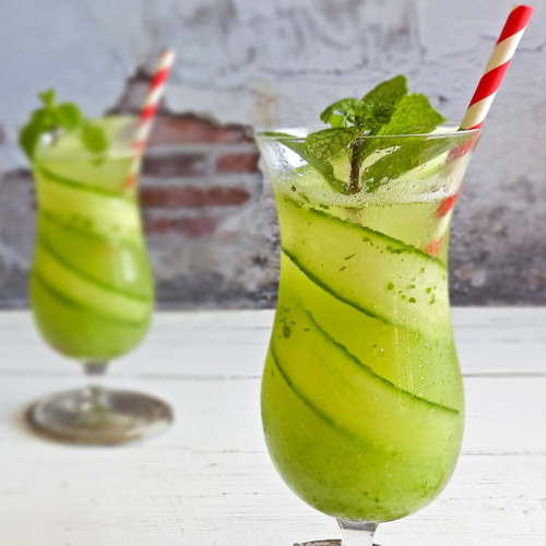 Cucumber & Mint Cooler Mocktail