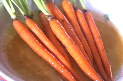 Easy Honey Roasted Carrots Recipe