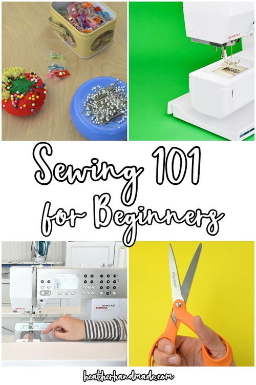 Sewing 101 For Beginners