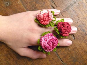 Giant Rose Ring Crochet Pattern