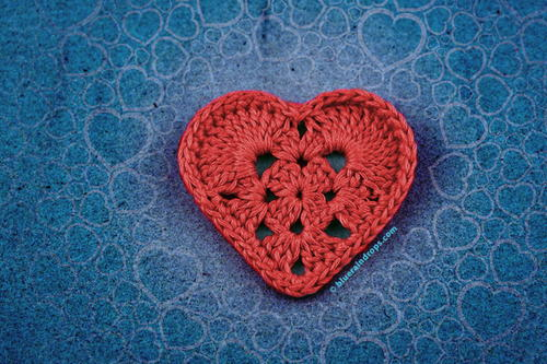 Simple Crochet Heart