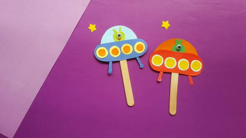 Easy Alien Spaceship Craft