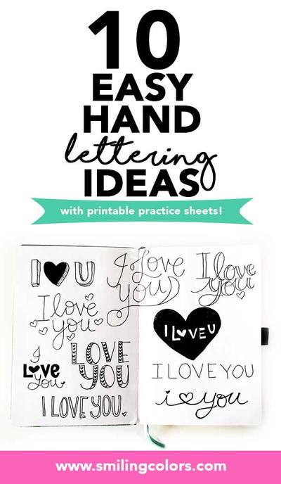 How To Letter I Love You
