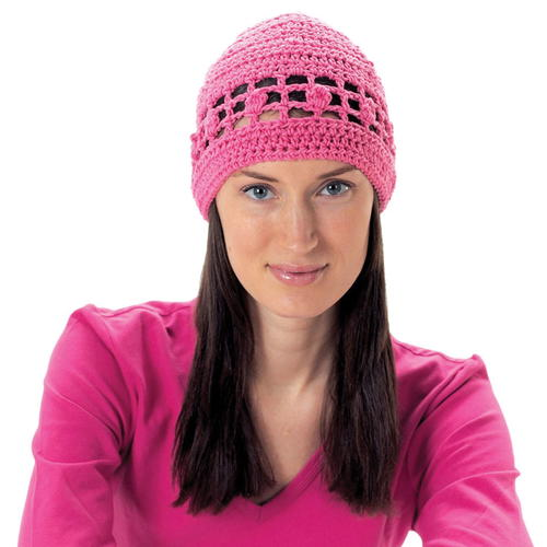 Mesh Bobble Hat