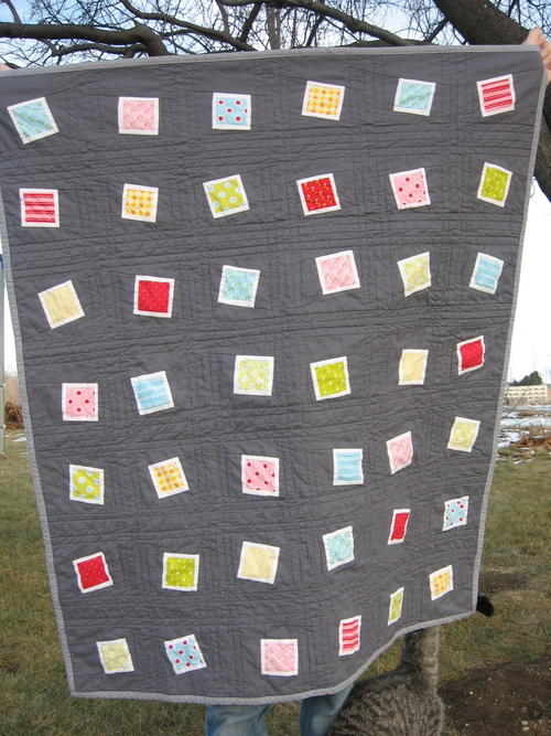 Sweet Dreams Scrapped Baby Quilt