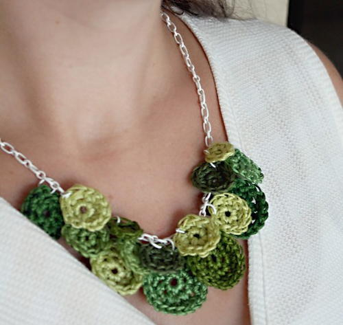 Lucky Green Necklace