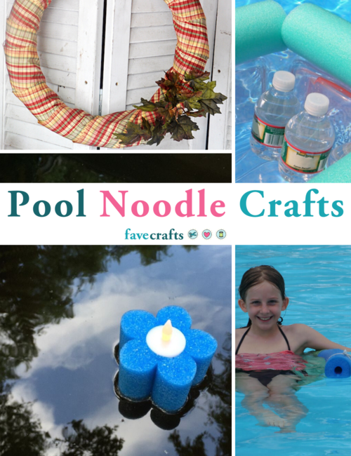 14 Pool Noodle Crafts