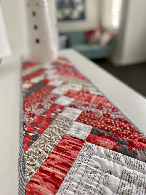 Red Braid Table Runner