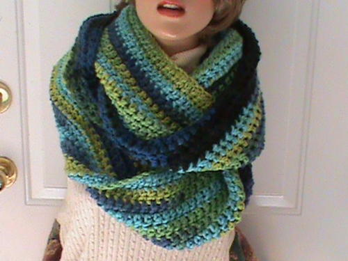The Take Me Outside Infinity Scarf