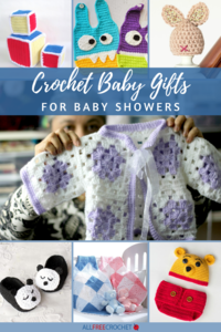 60+ Crochet Baby Gifts for Baby Showers