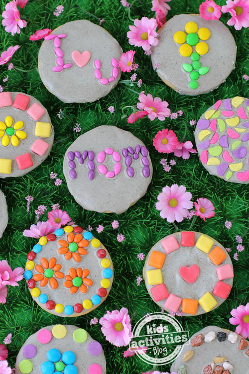 Garden Stone Cookies To Celebrate Mothers Day