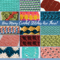 How Many Crochet Stitches Are There?