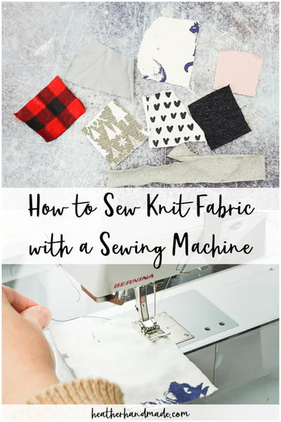 Sewing Knit Fabric With Just A Sewing Machine