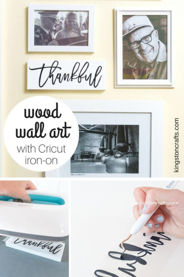 Thankful Wood Wall Art