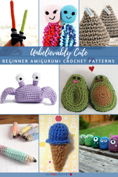 Cute Tiny Amigurumi Patterns | 600x400