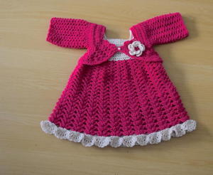 24 Cute Crochet Baby Dress Patterns Free Allfreecrochet Com