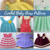 24 Free Crochet Baby Dress Patterns