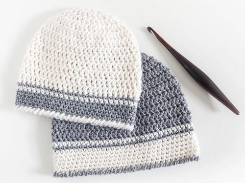 Single Double Crochet Baby Hat Pattern