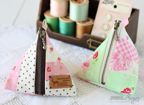 Patchwork Vintage Coin Purse Pattern