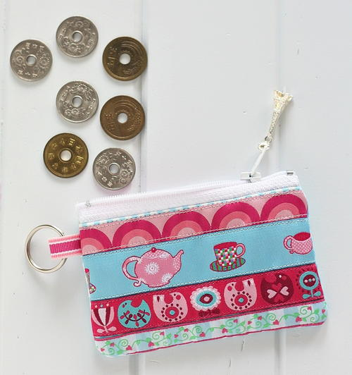 Zippered DIY Coin Purse