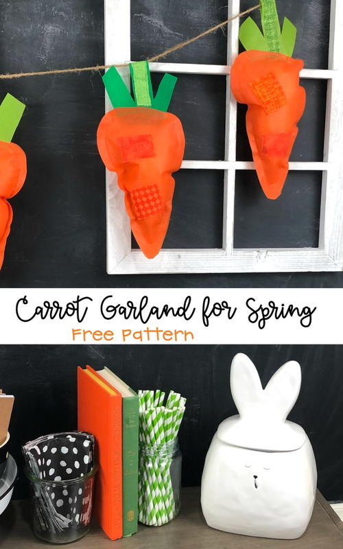 Carrot Garland Decoration