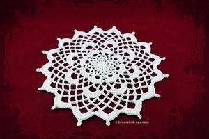 Charming Doily Crochet Pattern