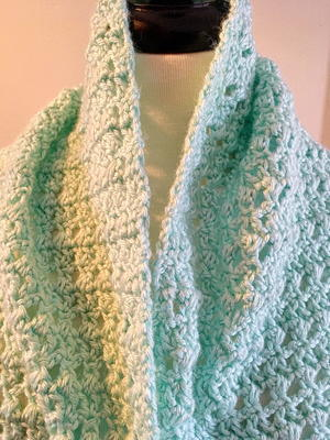 Misty Crochet Lacy Wrap Pattern