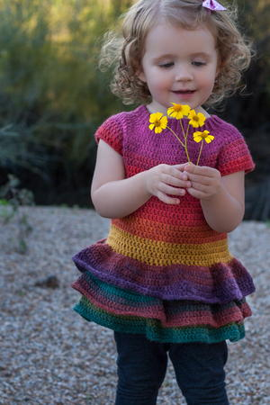 Toddler Ruffle Sweater