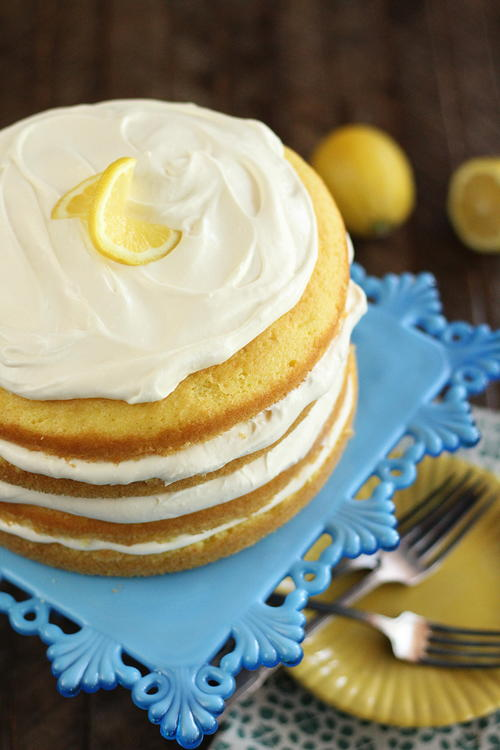 Easy Lemon Cream Cake