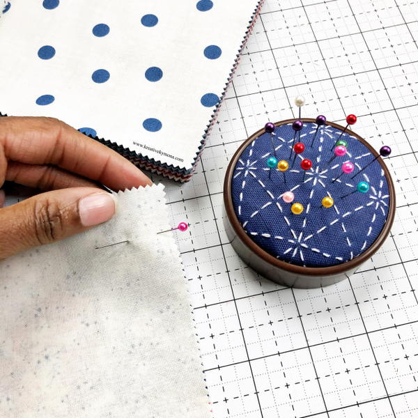 Sashiko Pincushion