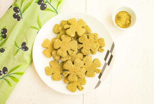 Low Carb Savory Cookies With Stinging Nettle Flour