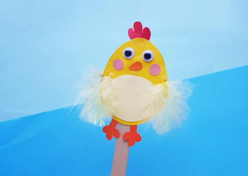 Easy Easter Chick Kids Craft