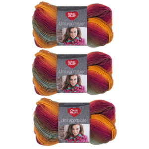 Red Heart Sunrise Unforgettable Yarn Giveaway
