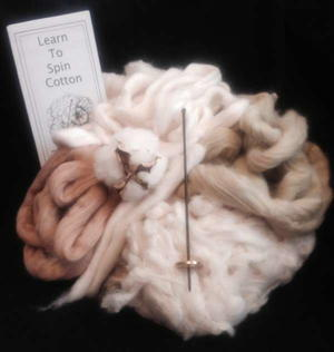 All About Spinning Cotton Kit and DVD Giveaway