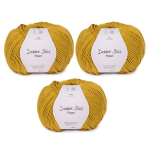 Gold Debbie Bliss Piper Yarn Giveaway