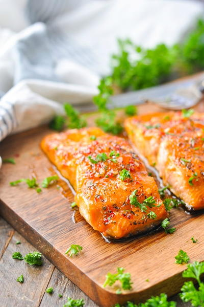 Sweet Heat Southern Glazed Salmon