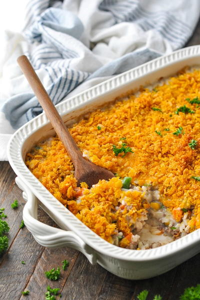 Hamburger Casserole With Rice