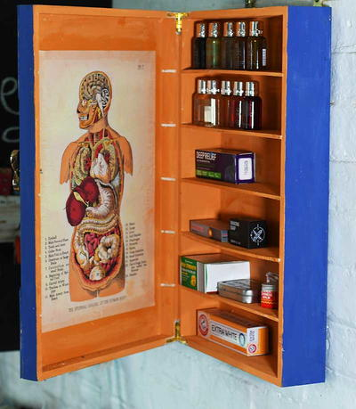 Upcycled Medicine Cupboard