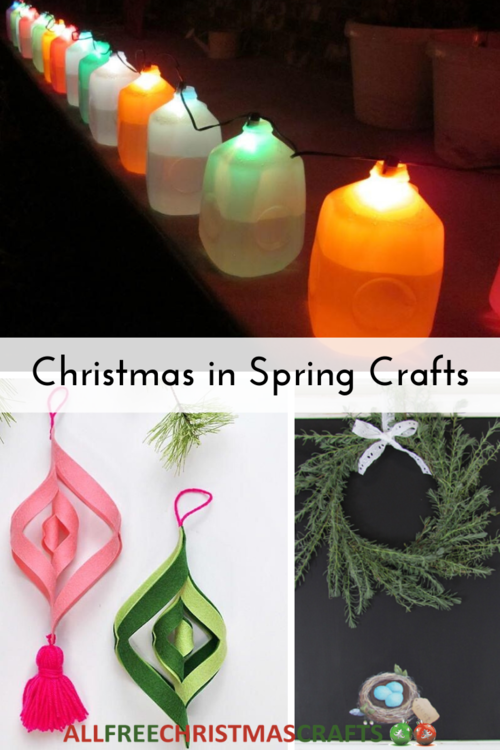10 Christmas in Spring Crafts