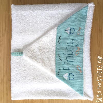 How To Personalise A Baby Towel