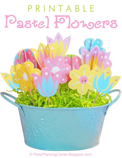 Printable Spring And Summer Flowers