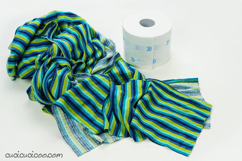 How To Make And Wash Diy Cloth Toilet Paper From Recycling