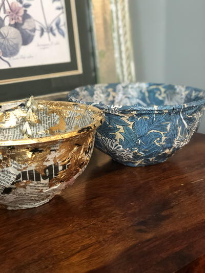 How To Make Decorative Trinket Bowls From Takeaway Containers