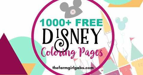 1000 Free Disney Coloring Pages