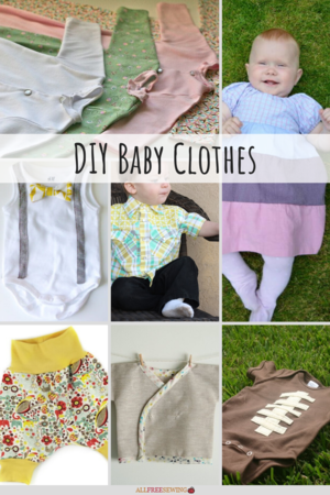 18+ DIY Baby Clothes