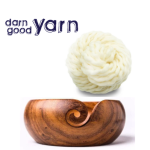 Handmade Yarn Bowl and Wool Yarn Giveaway