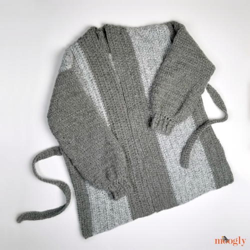 Cuff To Cuff Colorblock Cardigan