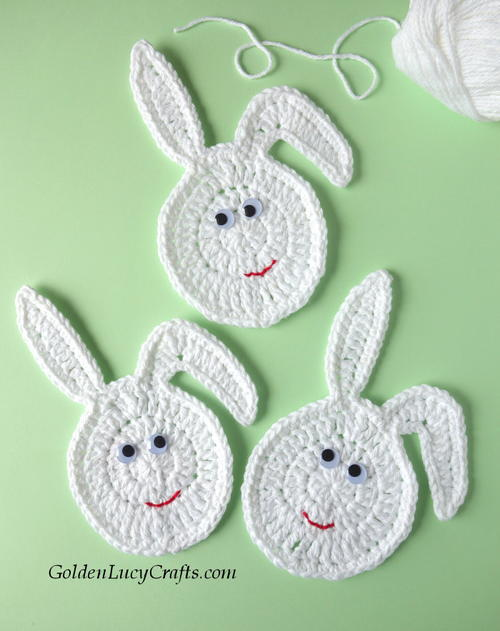 Crochet Easter Bunny Eggs