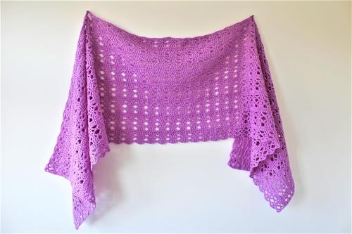 Relaxing Rainbow Crochet Blanket