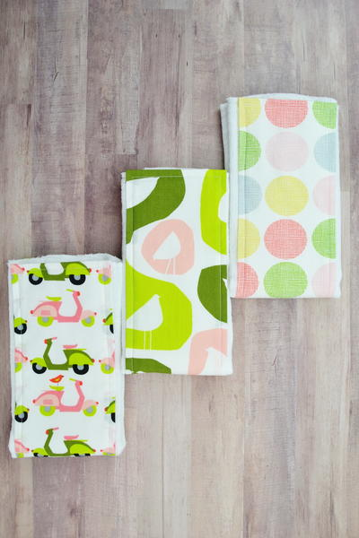 How To Make A Burp Cloth From A Diaper